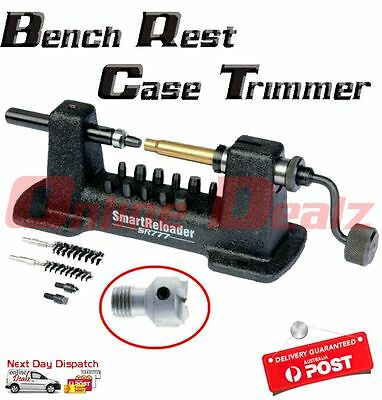 Smartreloader SR777 Bench Rest Case Trimmer Hunting Ammo Reloading Universal new