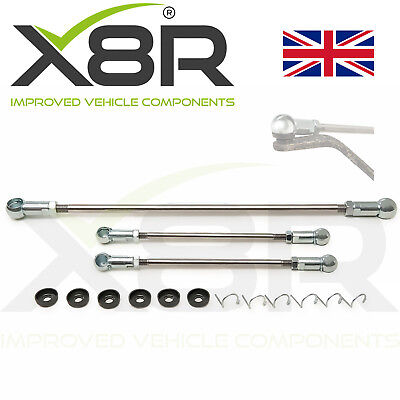 For Peugeot 106 Citroen Saxo Gear Linkage Push Rods 3pc Kit Seal 245283 2452/e1