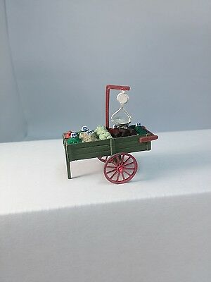 Arttista Produce Cart #9003 - O Scale On30 On3 Figures People Artista -  New