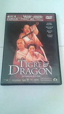 "Dvd ""Tigre Y Dragon"" Ang Lee Chow Yun Fat Michelle Yeoh Zhang Ziyi Chang Chen"