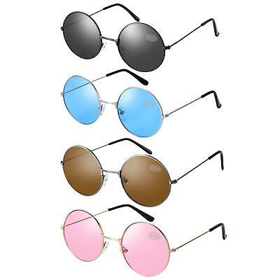 John Lennon Style Round Sunglasses - Many Colours