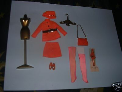 Dawn doll VINTAGE outfit TOWN N TAILORED #0819  EC   COMPLETE
