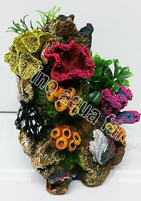 Aquarium Coral Reef Ornament Small, Marine Reef Fish Tank Decor