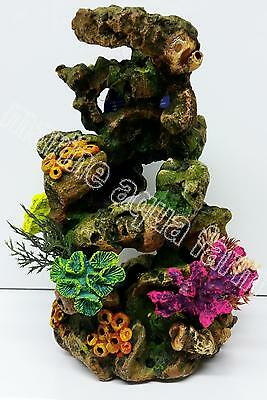 Aquarium Coral Reef Ornament Large, Marine Reef Fish Tank Decor