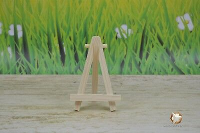 5 X Mini Wooden Easel 5''  For Wedding, Name Holder Or Table Number