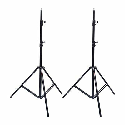 UK 2PCS VICTORY 260cm 9ft Heavy Duty Spring Cushioned Large Studio Light Stand