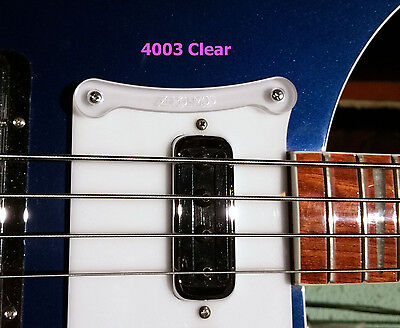 Zero-Mod 4003 Thumb Rest / Tug Bar for Rickenbacker 4003 Bass - NO Modifications