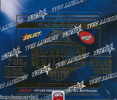 2014 Afl Select Future Force Factory Sealed Box