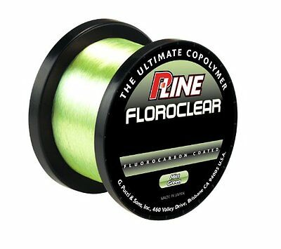 P-LINE FLOROCLEAR MIST GREEN - 1000m Spool - SPECIAL CARP FISHING - Fluorocarbon