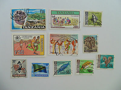 L530 - Collection Of Tanzania Stamps
