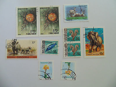 L531 - Collection Of Tanzania Stamps