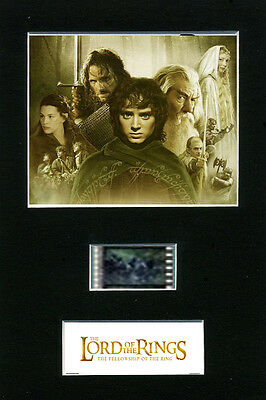 The Lord of the Rings 35mm Mounted Film Cells Fellowship of the Ring Filmcell