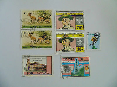 L563 - Collection Of  Tanzania Stamps