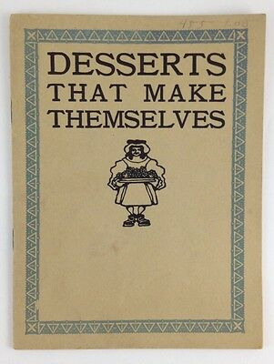 Vtg Auto Vacuum Freezer adv Cookbook Frozen Desserts That Make Themselves M Neil