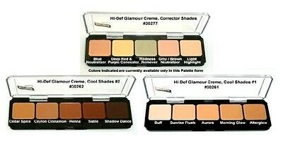 Graftobian Creme Foundation Palette All Colors