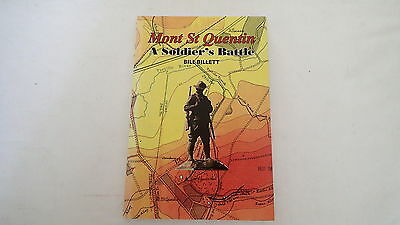 WW1 Austrailian Mont St. Quentin A Soldiers Battle Reference Book