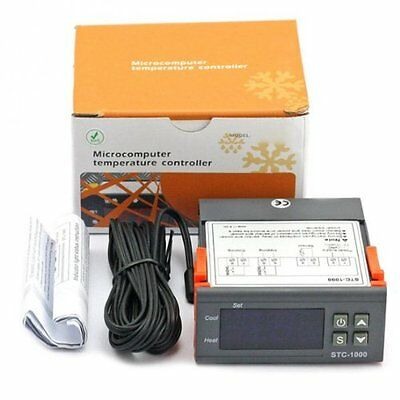 Universal STC-1000 Digital Temperature Controller Thermostat w/ Sensor AC 110V