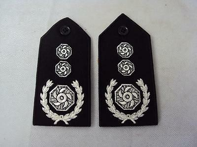 Brigade Manager Fire & Rescue Officer's Epaulettes / Rank Slides