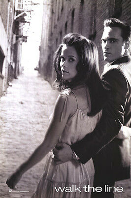 Walk The Line Advance B Single Sided Original Movie Poster 27x40 inches