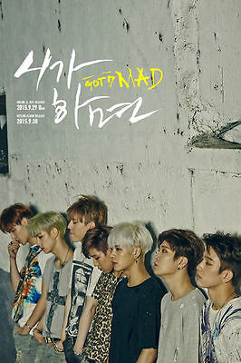 GOT7 - MAD (4th Mini Album) [VERTICAL VER.] CD+PhotoBooklet, without photocard