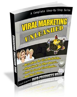How to Create Viral Marketing Secrets Make More Money e-Book PDF w/Resell Rights