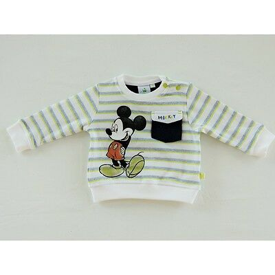 Baby Disney Mickey Sweatshirt/jumper/top cotton age 3 months up to 24 months