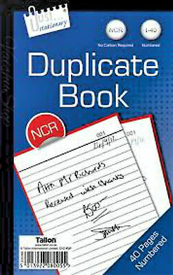 Just Stationary Full size 1-40 Duplicate No Carbon Required Book ( NCR )