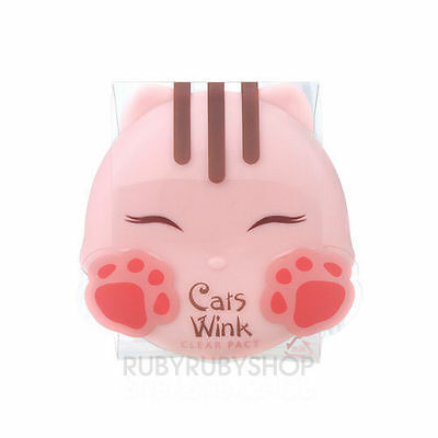 [TONYMOLY] Cats Wink Clear Pact  #2 Clear Beige [RUBYRUBYSTORE]