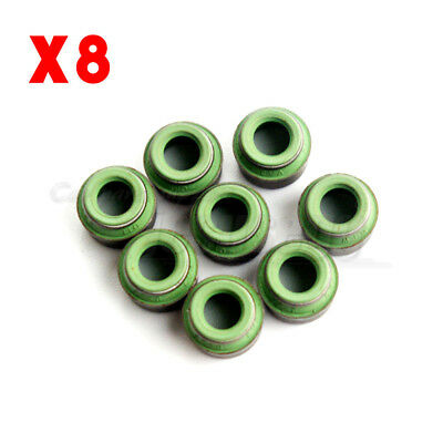 8Pcs Engine Valve Stem Oil Seal 8mm For VW AUDI Skoda VOLVO Seat  026109675