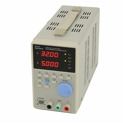 0-32VDC 0-5A Programmable Power Supply, Circuit Specialists PPS2116A