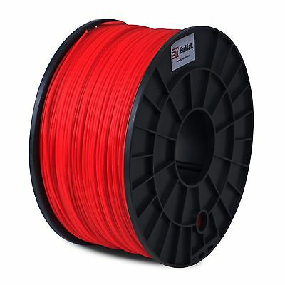 BuMat PLA RED 3D Printer Filament 2.2lbs (1kg) 1.75mm Supply Material MakerBot