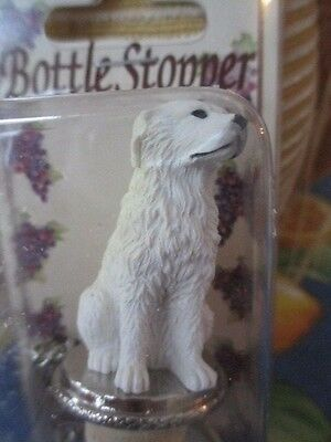 Great  Pyrenees  ~ Dog Wine Stopper