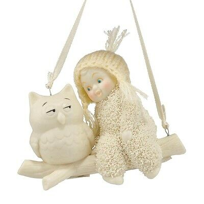 SNOWBABIES Wise Advice Hanging Ornament Gift Boxed #4045815