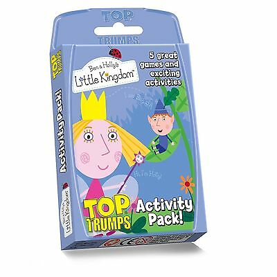Top Trumps Ben And Hollys Activity Pack - Card Games Games/puzzles Brand New