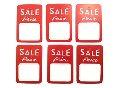 8b3ff8db2141 100PCS RED WHITE Price Coupon Tag Special Sale Merchandise Sale price Tags