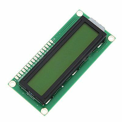 1602 16x2 HD44780 Character LCD Display Module LCM Yellow backlight