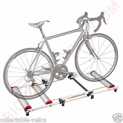 Bicycle Rollers Indoor Trainer BMX Track Road MTB Folding Parabolic Bike Roller