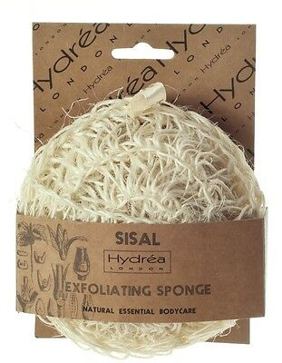 Hydrea London Sisal Exfoliating Sponge with a Medium/Hard Texture SS5