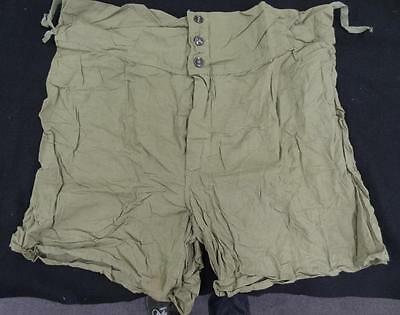 Ww2 Men's Boxer Shorts - Size 38 - Dated 1945 - N.o.s. #eq396