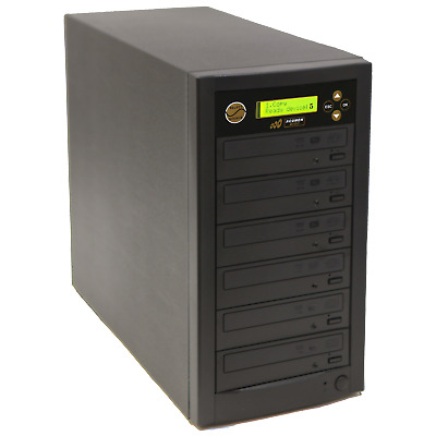 1 to 5 DVD CD Disc Copy Burner Duplicator Tower With 500GB Hard Drive & USB 3.0