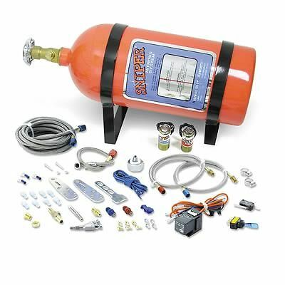 NOS  Nitrous Oxide System, Sniper, EFI, Wet, 35-75 hp, 10 lb. Bottle, Orange, 4-
