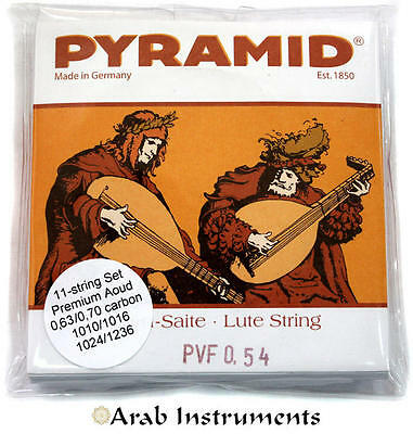 Pyramid Premium Oud / Lute Strings - Clear Carbon - Made in Germany