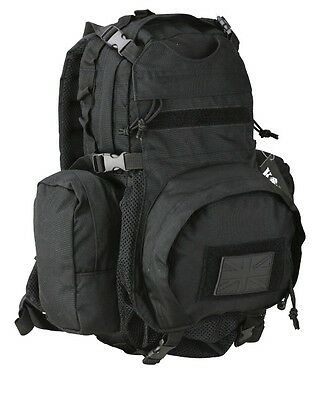 Kombat Vulcan Helmet Pack Black - Rucksack, Backpack, Patrol Bag