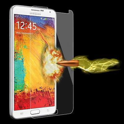 Tempered Glass Screen Protector For Samsung Note3 Anti-Glare Ultra Thin Premium