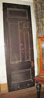 Tall Victorian Raised Panel Door W Ribbon Molding