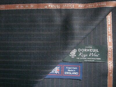50/% COTTON SUITING FABRIC 3.4m MOONLIGHT SHIMMER Holland /& Sherry 50/% SILK