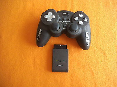 Controller Hama Funk Wireless für Sony Playstation 2