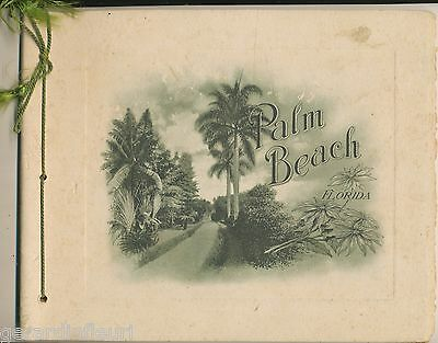 PALM BEACH  Florida 18  PHOTO- GRAVURES   1918 ?