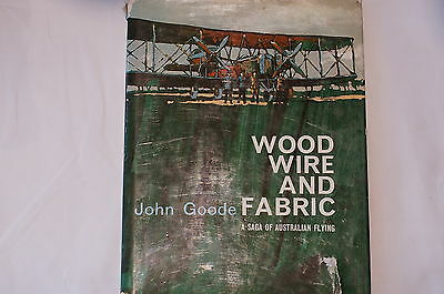 WW1 Austalian Wood Wire and Fabric Reference Book