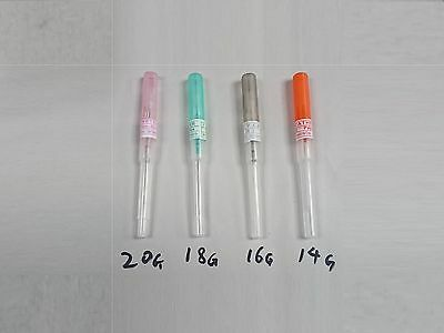 Cannula Blade Body Piercing Needles 14G 16G 18G 20G Single Seal 1x 5x 10x 20x